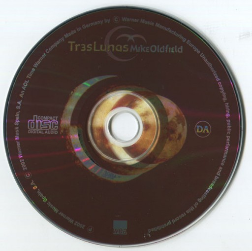 "AKKORDARBEIT MIKE OLDFIELD/ Album ""Tres Lunas"""