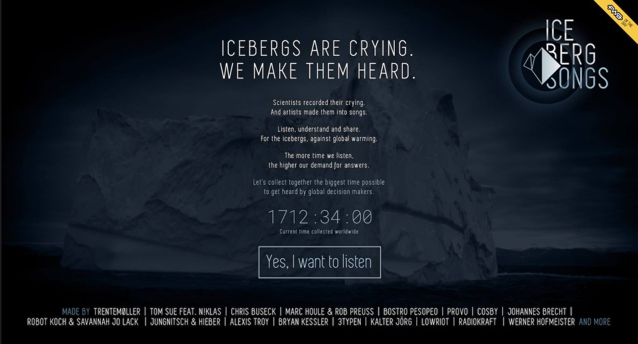AKKORDARBEIT ICEBERGSONGS/ Klimakonferenz Paris